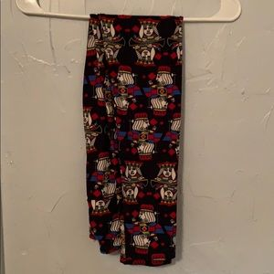 OS Lularoe Leggings like new Cards